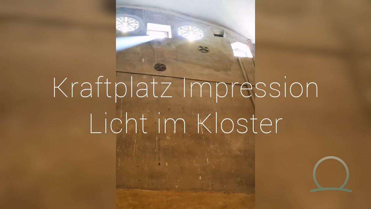 Kraftplatz Impression Licht im Kloster