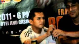 FRANCISCO ROSAS MEETS THE CEBU BOXING PRESS