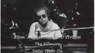 Elton John LIVE 12.11.1970 - 60 Years On