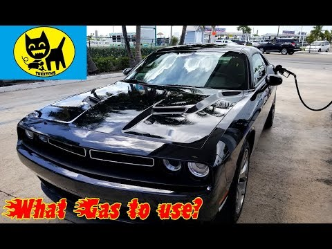 What Gas To Use In A Dodge Challenger Youtube