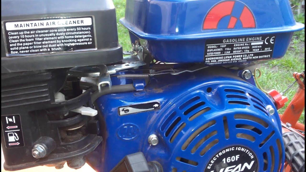 Купить двигатель Lifan 16 F GX 12 по выгодной цене с