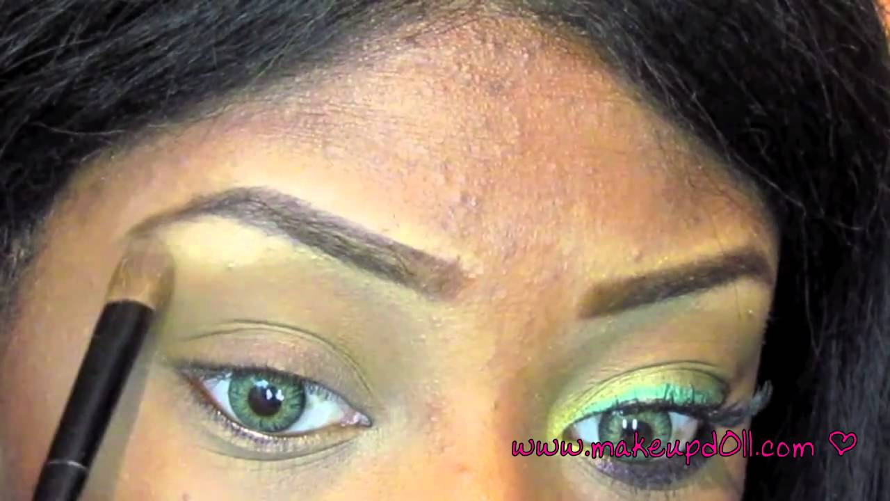 I color how to make green eyes pop using bhcosmetics for Colors that pop out