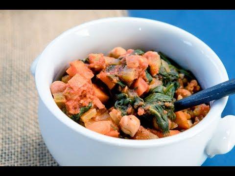 Zesty Pepper Italian Garbanzo Bean Soup