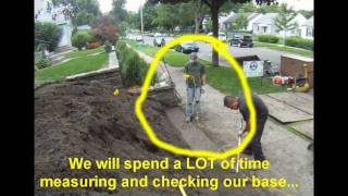 How To Build A Retaining Wall, Minneapolis (time Lapse Video)