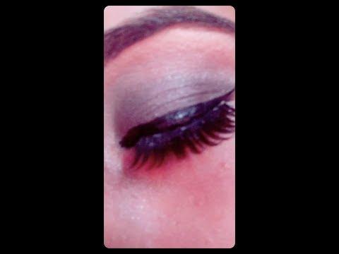 Grayish Smoky Eye Look 💟💟💟