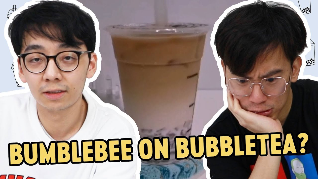 PLAYING BUMBLEBEE ON A BUBBLE TEA