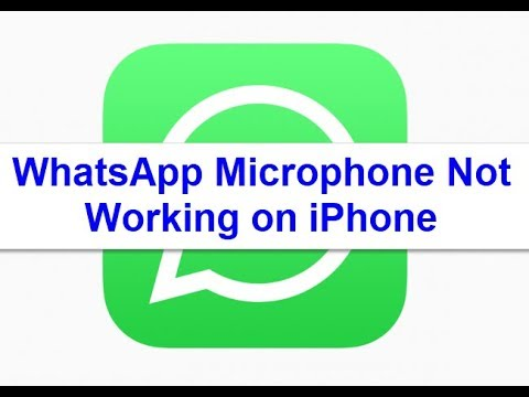WhatsApp Microphone not working on iPhone X, 8, 8 Plus, 7, 7 Plus, 6, 6s, 6  Plus (Solved)