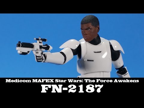 MAFEX FN-2187 Finn Star Wars: The Force Awakens Medicom Action Figure Review