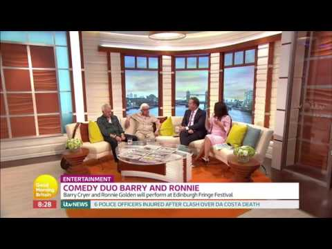 Barry Cryer Ronnie Golden Interview
