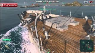 World of Warships морской видео онлайн бой атака на крейсер(World of Warships морской видео онлайн бой - вторая торпедная атака и крейсер уничтожен https://youtu.be/AoRkBKM_P2o., 2016-01-08T05:10:26.000Z)