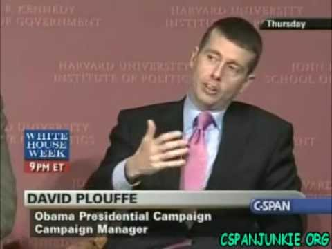 Election Stories: Inside Campaign 2008 with David Plouffe and David Axelrod