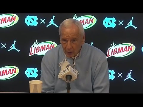 Roy Williams Post-Marquette Press Conference