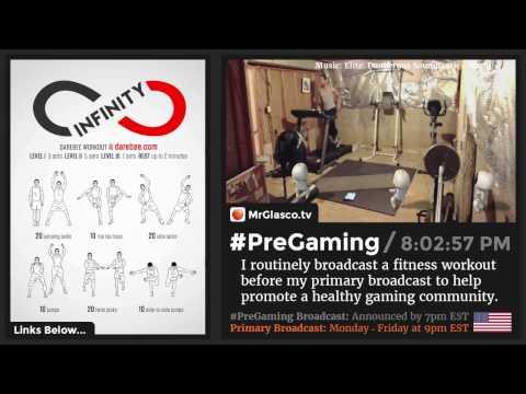 #PreGaming: DAREBEE Infinity Workout 💪