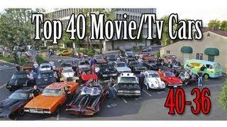 Forza 4 Top 40 Movie/Tv Cars Count Down (40-36) | SLAPTrain