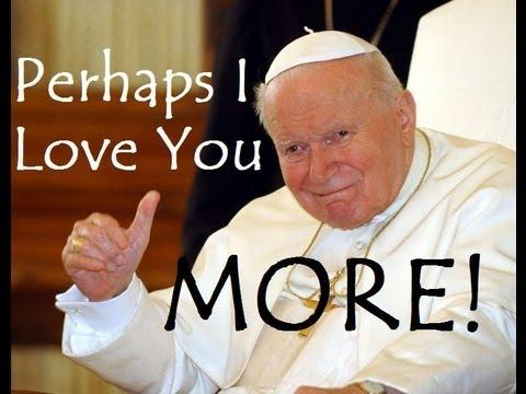 "John Paul II Sings ""Dynamite"" - AutoTune Church"