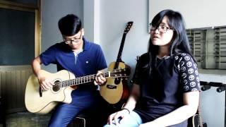 Sống như những đóa hoa-Acoustic cover by Khoa Anh ft. Thiên Kim (The Voice Kid)