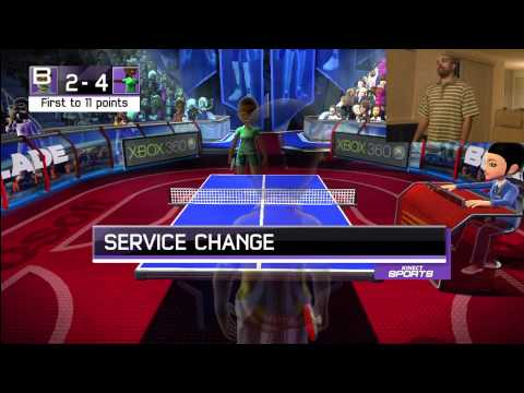 XBox Kinect Sports Table Tennis Hands On Ping Pong