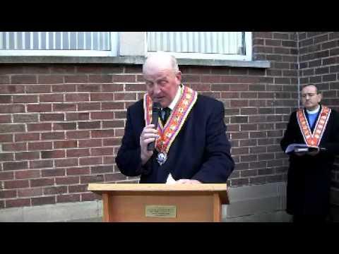 Armistice Day 2013 - Grand Master's Address