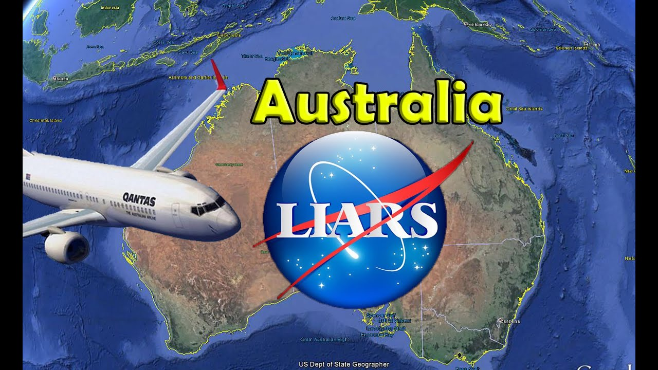 Flat Earth Australia Globe Earth Flight Routes Destroyed YouTube - Earth map show airplane travell from us to austrialia