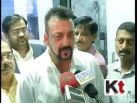 Sanjay Dutt meeting Mamata Banerjee at Nabanna