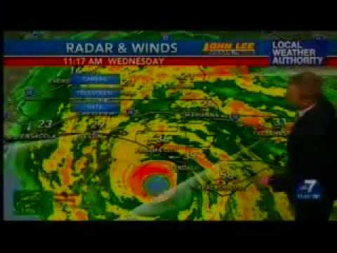 (WJHG) Last Hour of Hurricane Michael Coverage Before Being Knocked Off-Air