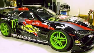 Daigo Saito Builds World's First Drift Toyota GR Supra