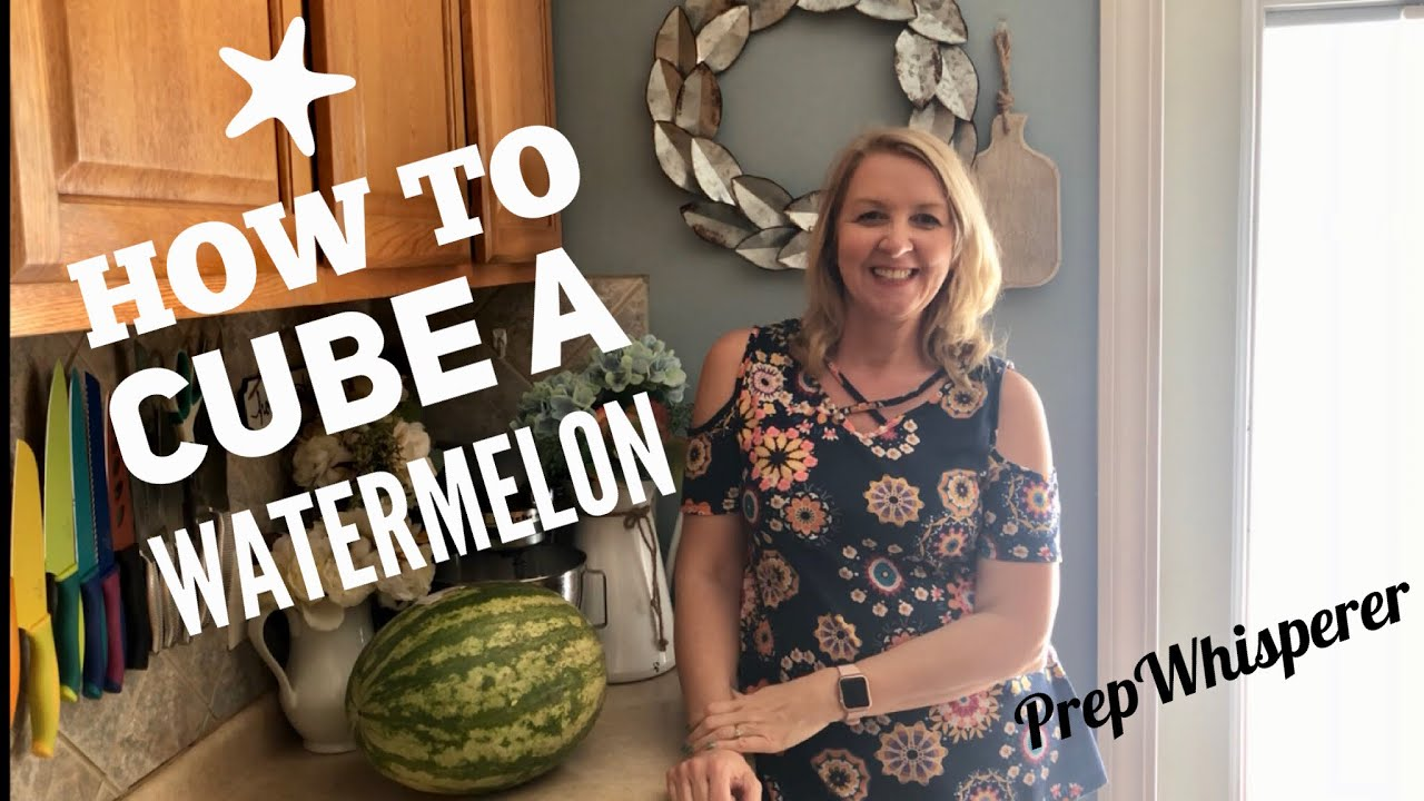 Download How I quickly cube a watermelon- WW snack prep