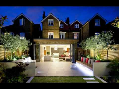 Long Rectangular Garden Design Ideas - YouTube on Landscaping Ideas For Rectangular Backyard  id=85070