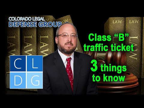 """Class B"" traffic infractions in Colorado – 5 things to know"