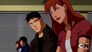 Young justice Superboy and Miss Martin