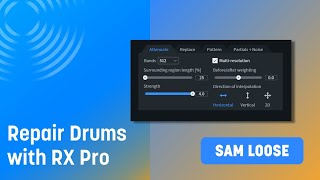Repairing Drums with RX Pro for Music