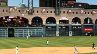 MLB 2K11: Franchise Mode - Chicago Cubs vs. Houston Astros