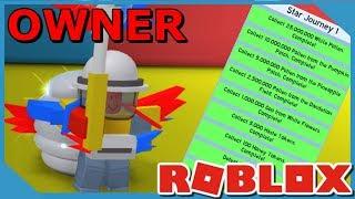 Terminando la primera misión de los propietarios en Roblox Bee Swarm Simulator