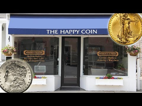 The Happy Coin in Greenwich, CT  Enthusiastic Buyer & Seller