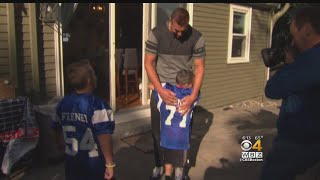 Seven-year-old Ryan Feeney has a rare disease, and he got a major s...