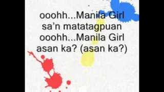 AkoSiChris-Manila Girl (100% Original Pinoy Music by a