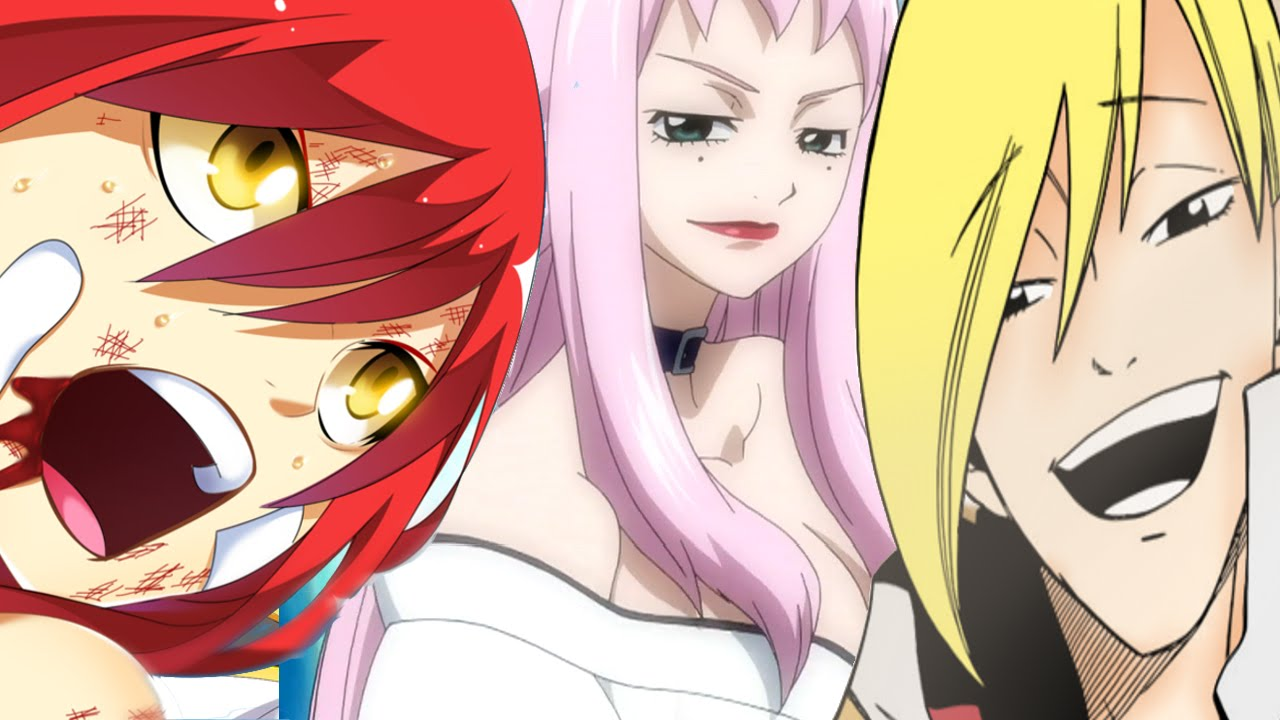 OMG Fairy Tail Manga Chapter 481 フェアリーテイル Erza Kagura ...