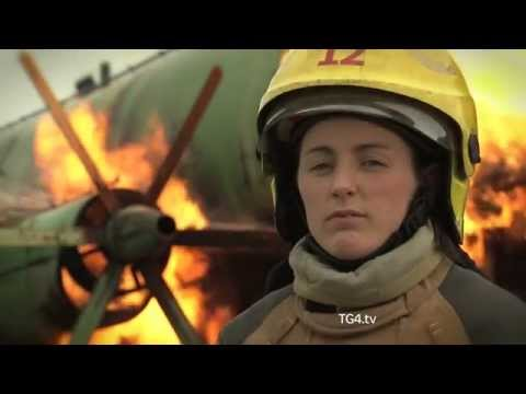 Firefighter and Dublin's Ladies Football Captain Lyndsey Davey