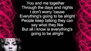 Alicia Keys No One Lyrics