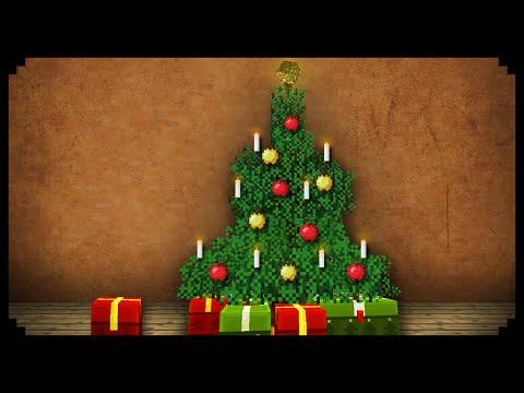 ✔ Minecraft: How to make a Christmas Tree