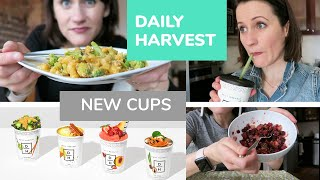 REVIEW of DAILY HARVEST NEW CUPS / 2019 UPDATE