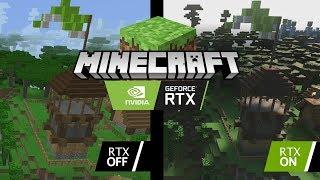 Minecraft jak PRAWDZIWOŚĆ - MInecraft RTX