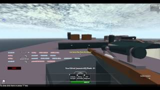 Roblox COR 5 Part 1 why is my gun in my head!