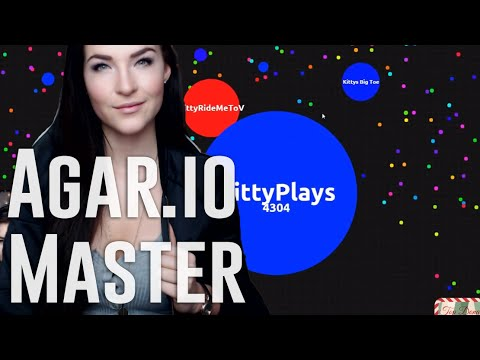 Let Me Eat Your Balls (Agar.io MASTER) | Kitty Plays