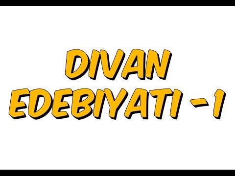 10dk da DİVAN EDEBİYATI -1- Tonguc Akademi, TALHA DOGAN