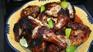 At Home Jerk Chicken.
