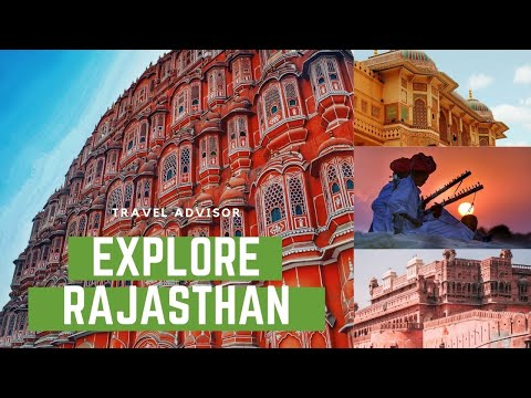 RAJASTHAN - Top10 tourist attractions that you MUST SEE |HD