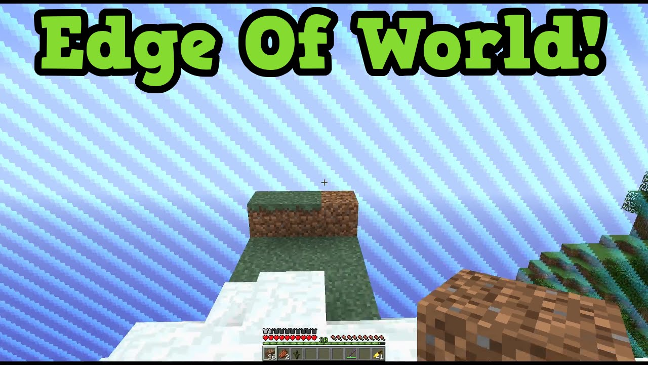 Minecraft - How big IS a PC World & World Border Explained