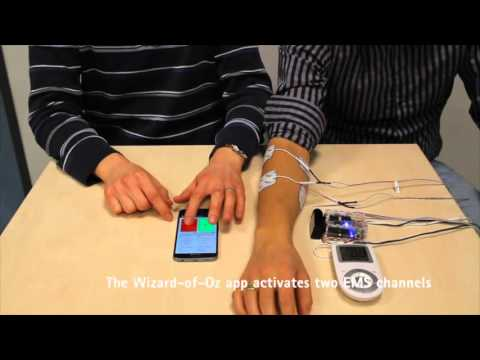 A Wearable Force Feedback Toolkit with Electrical Muscle
