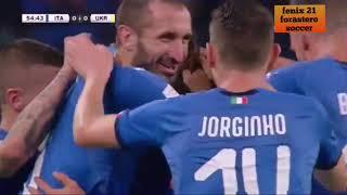 Resumen de los partidos amistosos Italia vs Ucrania/Albania vs Jordania